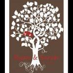 Wedding signature tree, wedding gue..