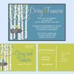 Custom Wedding Invitations: and mat..